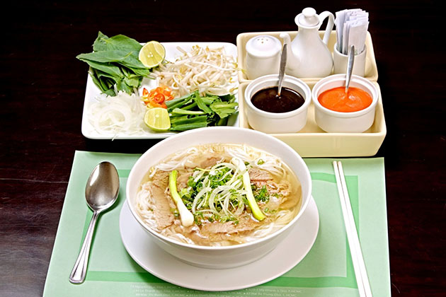 A Bowl of Pho Saigon in Phu My Shore Excursions