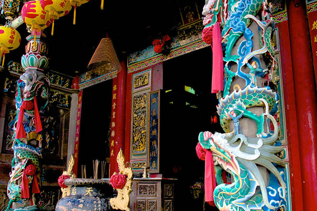 Architecture of Thien Hau Temple