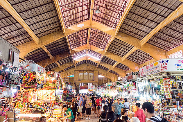 Architecture of Ben Thanh Market