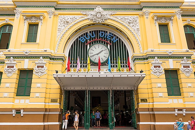 Architecture of Saigon Post Office