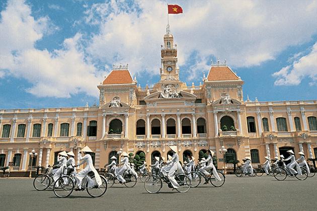 Ho Chi Minh Arrival