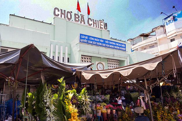 Ba Chieu Market in Saigon