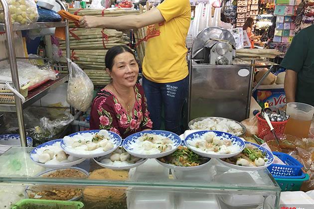 Banh beo Ben Thanh Market
