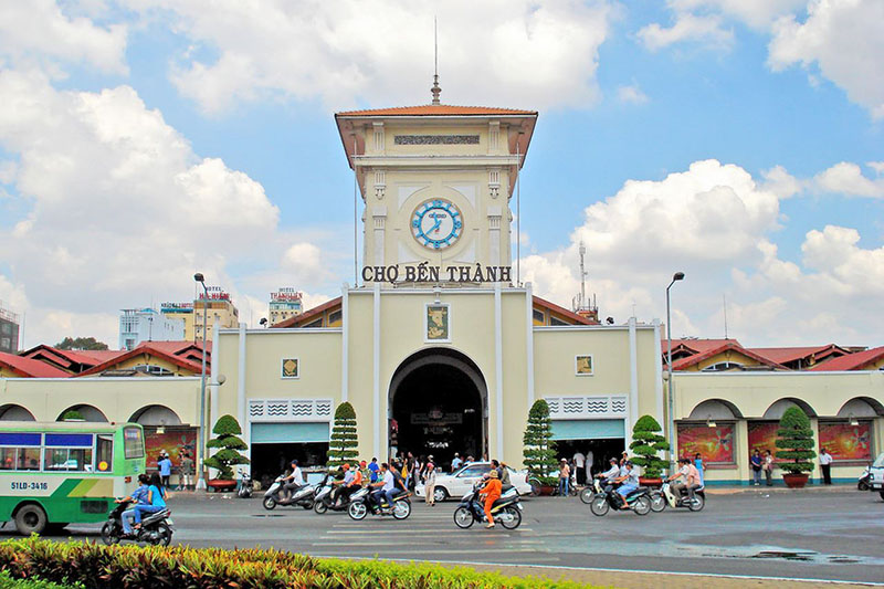 Ben Thanh Market Symbol of Saigon