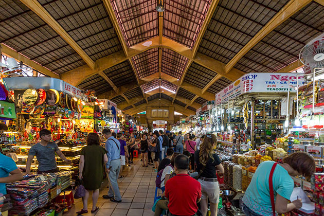 Ben Thanh Market Saigon Attraction