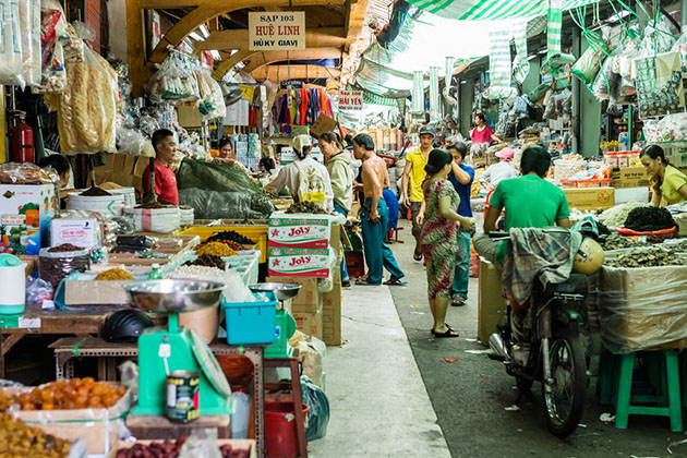 Experience Binh Tay Market Phu My Shore Excursions