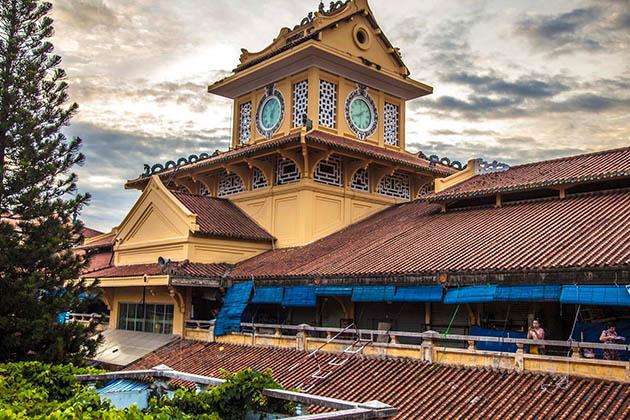 Binh Tay Market in Cholon Saigon