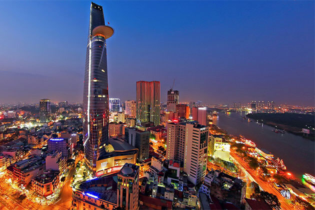 Bitexco Financial Tower in Ho Chi Minh City Tour