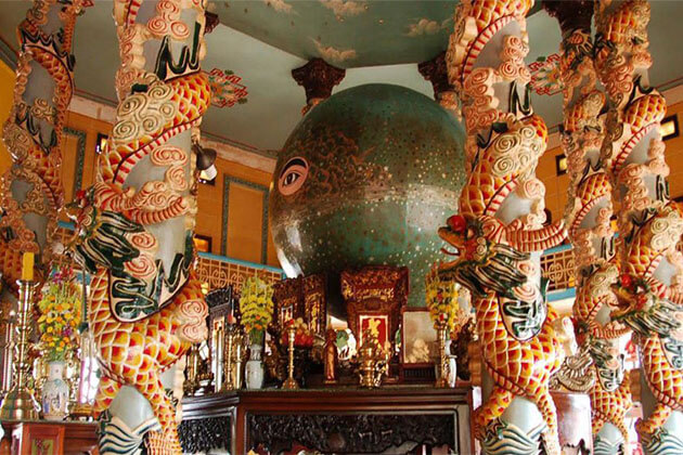 Cao Dai Temple South Vietnam Tour
