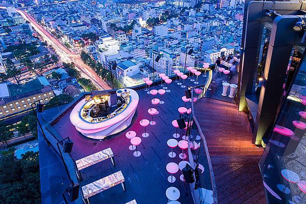 Chill Sky Bar in Saigon