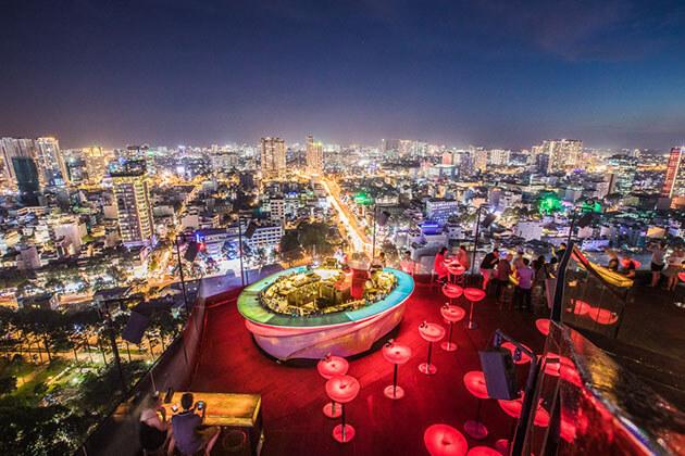Christmas Holiday in Saigon Vietnam