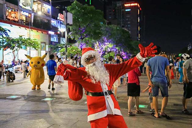 Christmas Holiday in Saigon