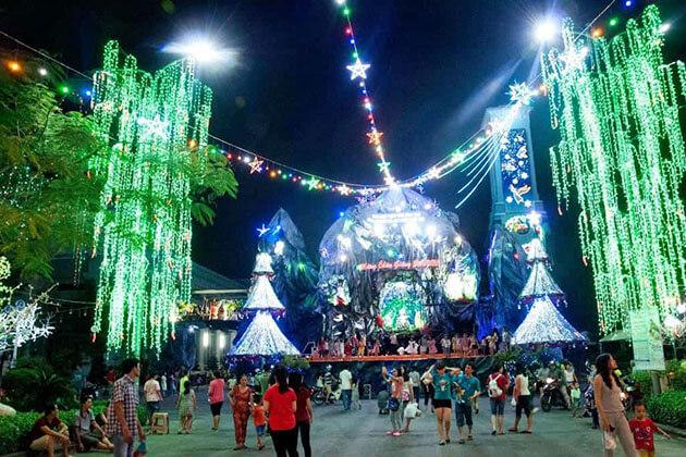 Christmas in Saigon Vietnam
