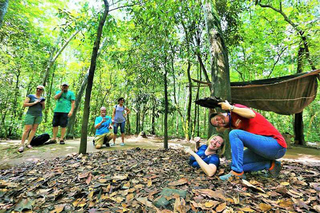 Cu Chi Tunnels South Vietnam tour