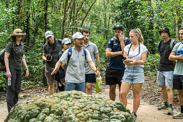 Cu Chi Tunnels tour from Ho Chi Minh City