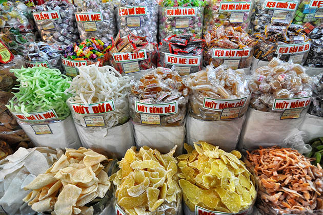 Dried Food Product in Ben Thanh Market
