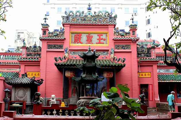 Emperor Jade Pagoda Saigon South Vietnam Tour