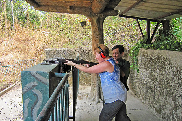 Experience Cu Chi Tunnels