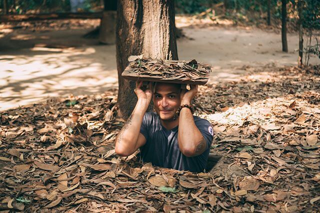 Experience Tunnel in Cu Chi