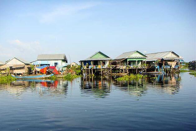 Floating House Cai Be Floating Market