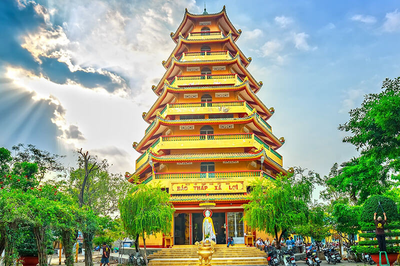 Giac Lam Pagoda Ho Chi Minh City Attraction