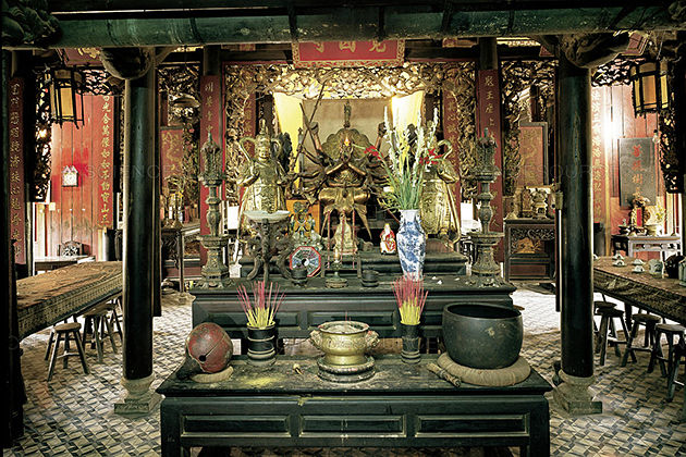 Giac Lam Pagoda in Saigon