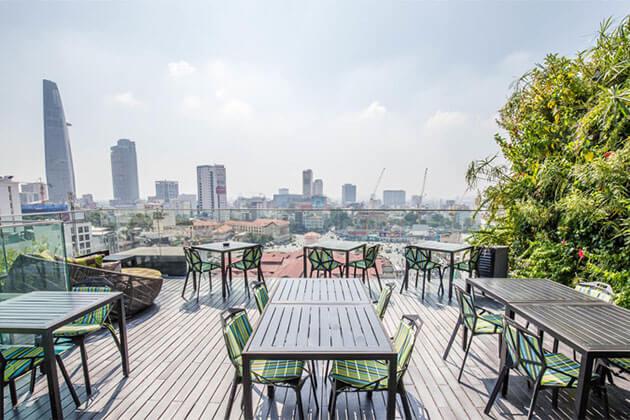 Grand Silverland Hotel & Spa near Ben Thanh Market