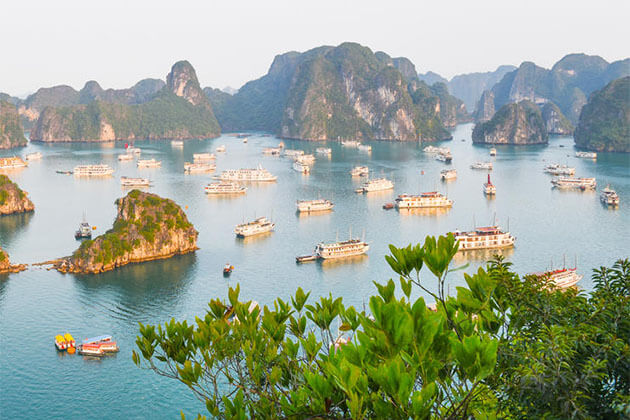 Halong Bay in Vietnam Tour