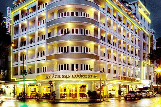 Huong Sen Hotel near Ben Thanh Market