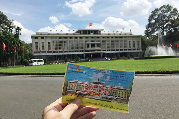 Independence Palace Ticket