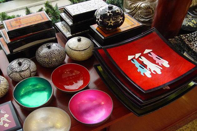 Laquerware Saigon Shopping Tour