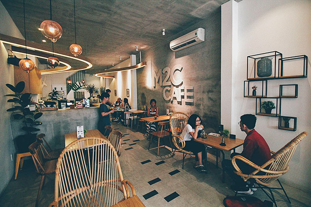 M2C Cafe in Saigon
