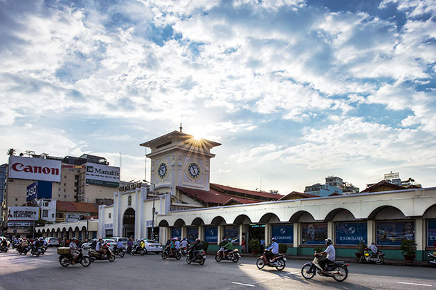 Ben Thanh Market Phu My Shore Excursion