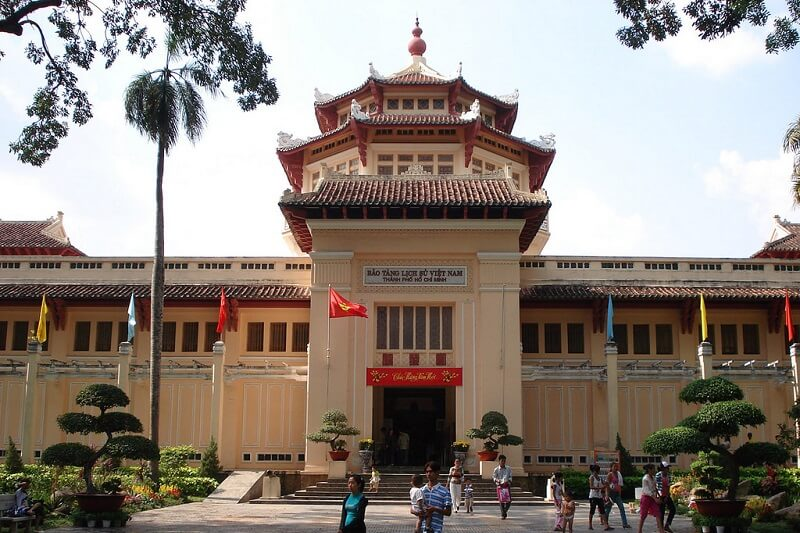 Museum of Vietnam History in Ho Chi Minh City
