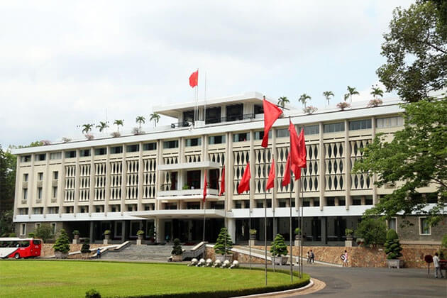 Reunification Palace Ho Chi Minh City South Vietnam Tour