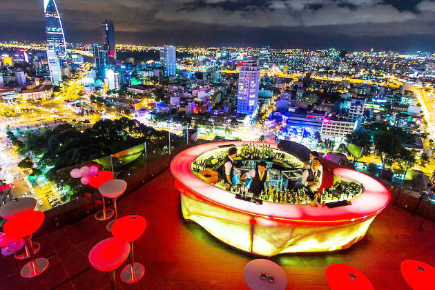 Rooftop Bars in Saigon