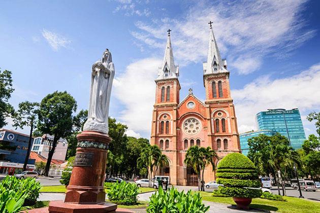 Saigon Notre Dame Cathedra