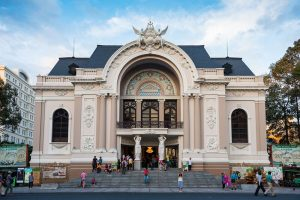 Saigon Opera House in Ho Chi Minh