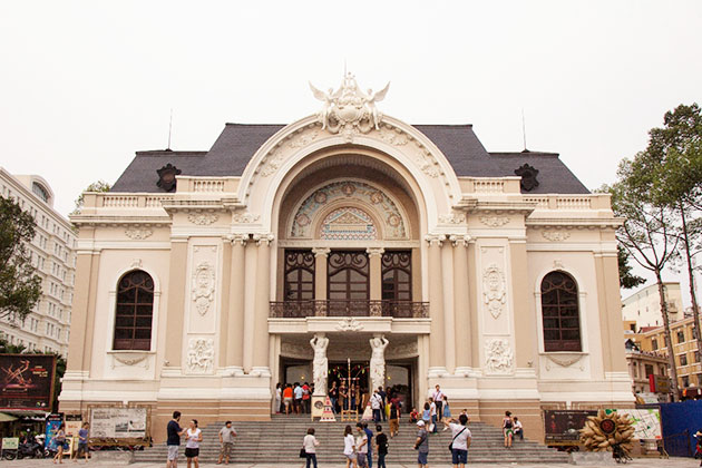 Saigon Opera House Ho Chi Minh City Tour from Cruise Port