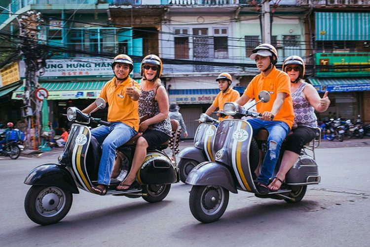 Saigon Vespa Tour Ho Chi Minh Shore Excursion