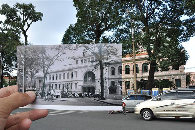 Saigon Central Post Office History