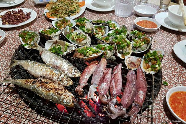 Seafood in Danang Vietnam