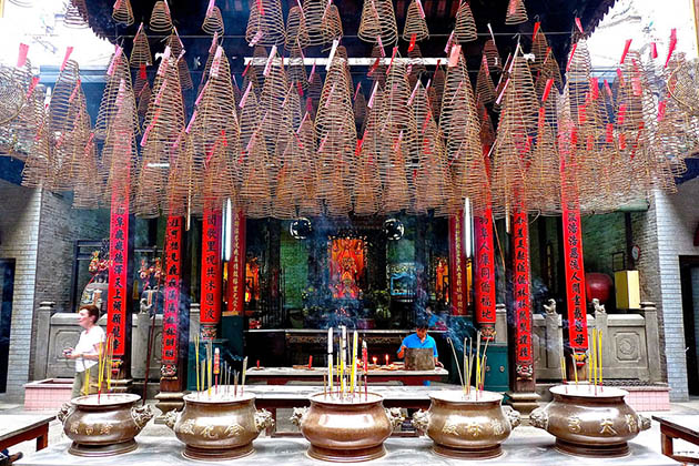 Smell of Insense in Thien Hau Temple