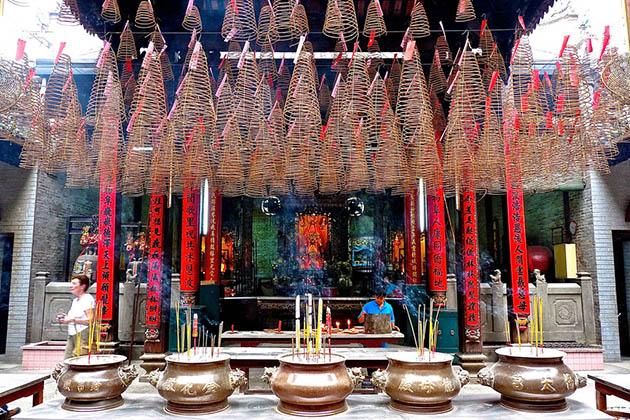 Smell of Insense in Thien Hau Temple