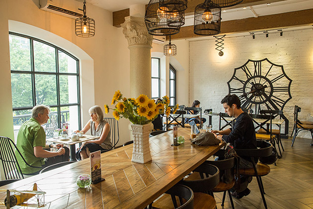 The Loft Coffee Shop in Saigon