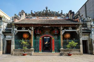 Thien Hau Temple in Saigon