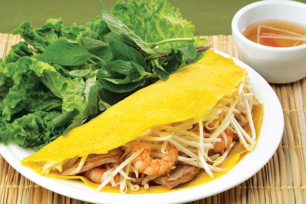 Vietnamese Crepe Ngon Son Saigon Chinatown