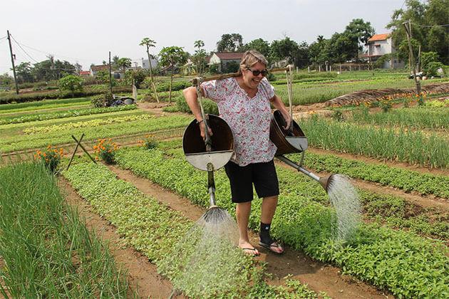 Local Village in Hoi An South Vietnam Tour