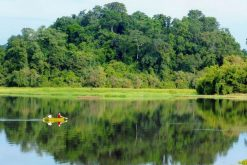 boat trip in nam cat tien national park ho chi minh city vacations