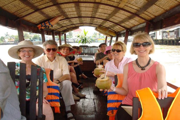 discover mekong delta by boat trip